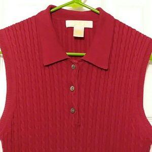 Brooks Brothers Sleeveless Sweater